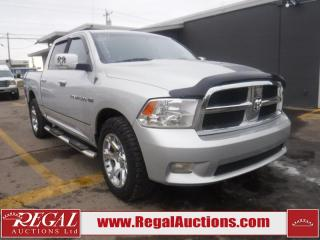 Used 2012 RAM 1500  4D CREW CAB SWB 4WD for sale in Calgary, AB