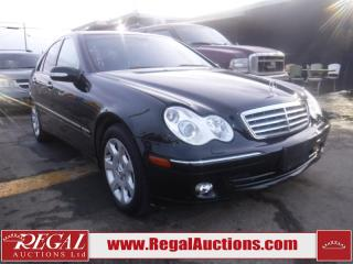 Used 2006 Mercedes-Benz C-CLASS C280 4D SEDAN AWD for sale in Calgary, AB