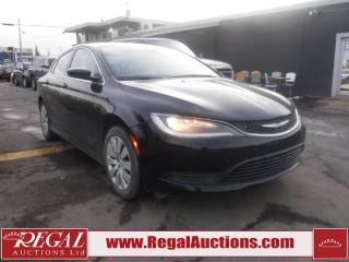 Used 2016 Chrysler 200 LX 4D Sedan FWD for sale in Calgary, AB