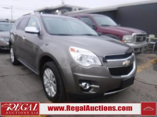 Used 2010 Chevrolet Equinox LTZ 4D Utility AWD for sale in Calgary, AB