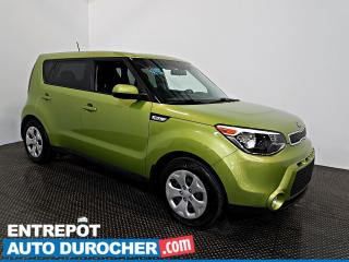 Used 2016 Kia Soul LX Automatique - AIR CLIMATISÉ - Groupe Électrique for sale in Laval, QC