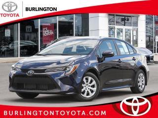 New 2020 Toyota Corolla LE CVT for sale in Burlington, ON
