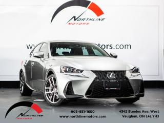 Used 2019 Lexus IS IS 300 AWD|F-Sport|Navigation|Blindspot|Red Leather|Camera for sale in Vaughan, ON