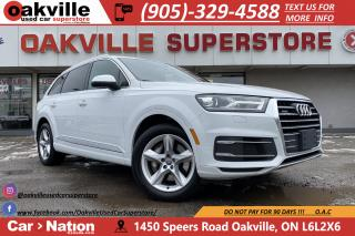 Used 2017 Audi Q7 3.0T KOMFORT | NAVI | B/U CAM | PANOROOF | LEATHER for sale in Oakville, ON