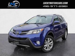 Used 2015 Toyota RAV4 LIMITED AWD-LEATHER-SUNROOF-BACKUP CAM-NAVI-BLIND SPOT for sale in Toronto, ON