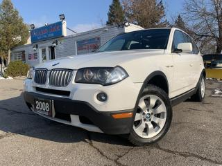 Used 2008 BMW X3 AWD 4dr 3.0i|LOCAL ONTARIO CAR|LOW KMS| for sale in Brampton, ON