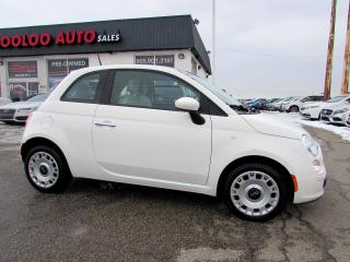 Used 2012 Fiat 500 Pop 5 SPEED MANUAL NO ACCIDENT CERTIFIED 2YR WARRANTY for sale in Milton, ON