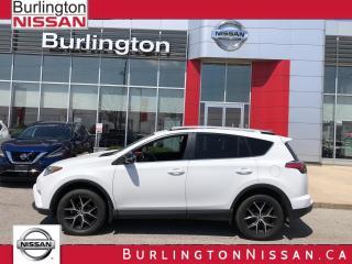 Used 2016 Toyota RAV4 SE, NAVIGATION, ACCIDENT FREE,1 OWNER ! for sale in Burlington, ON