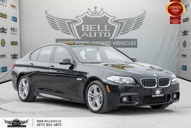 2015 BMW 5 Series 535i xDrive, AWD, M PKG, NO ACCIDENT, NAVI, BACK-UP CAM