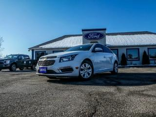 Used 2015 Chevrolet Cruze 1LT- BLUETOOTH- LOW KM for sale in Essex, ON