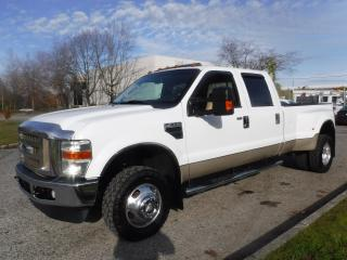 Used 2008 Ford F-350 SD Lariat Crew Cab Dually 4WD Long Box for sale in Burnaby, BC