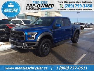 Used 2017 Ford F-150 Raptor 4x4, Pano Roof, One Owner, Clean Carfax for sale in Whitby, ON
