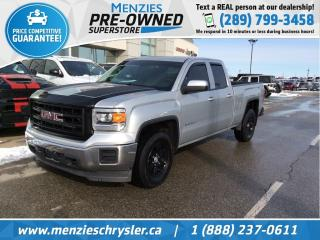 Used 2015 GMC Sierra 1500 4x4, Hitch, Alloys, Tint, Clean Carfax for sale in Whitby, ON