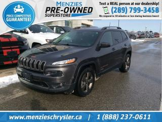 Used 2017 Jeep Cherokee 75th Anniversary 4x4, One Owner, Clean Carfax for sale in Whitby, ON