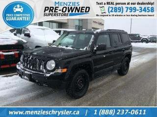 Used 2011 Jeep Patriot North 4x4, Heated Frt Seats, Clean Carfax for sale in Whitby, ON