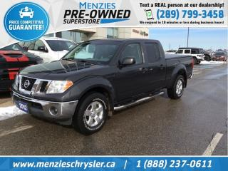 Used 2012 Nissan Frontier SV 4x4, Bluetooth, One Owner, Clean Carfax for sale in Whitby, ON
