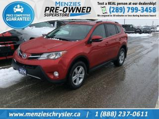 Used 2014 Toyota RAV4 XLE AWD, Bluetooth, Sunroof, Clean Carfax for sale in Whitby, ON
