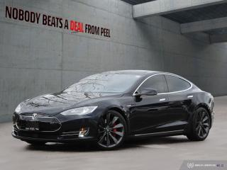 Used 2015 Tesla Model S P85D, Ludicrous, 7pass, Autopilot, NEW Brakes, Roo for sale in Mississauga, ON