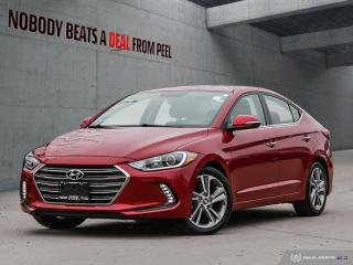 Used 2017 Hyundai Elantra Limited*Sunroof*Heated Seats*Infinity Audio* for sale in Mississauga, ON