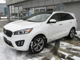 Used 2016 Kia Sorento SX+ 7-seater 3.3L SX+ 7-seater/leather/panoramic roof/navigation/360' camera/heated and cooled seats/premium sound system for sale in Mississauga, ON