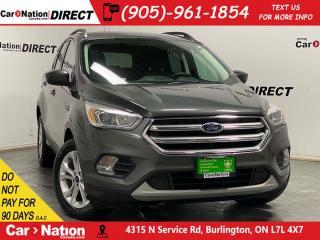Used 2017 Ford Escape SE| 4X4| NAVI| BACK UP CAMERA| for sale in Burlington, ON