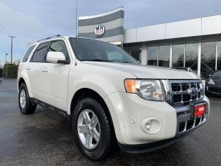 Used 2011 Ford Escape Limited 3.0L 4WD AUTO-PARK LEATHER SUNROOF 137KM for sale in Langley, BC