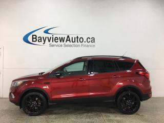 Used 2019 Ford Escape Titanium - 4WD! PANOROOF! HTD 1/2 LTHR! NAV! BLK ALLOYS! for sale in Belleville, ON