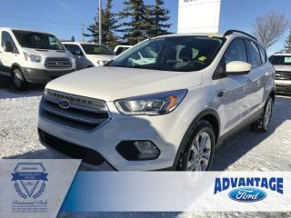 Used 2017 Ford Escape SE Voice-Activated Navigation - Heated Seats for sale in Calgary, AB