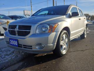 Used 2008 Dodge Caliber SXT/DRIVES & LOOKS AMAZING/ONLY 86,000 KMS!!! for sale in Hamilton, ON