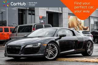 Used 2008 Audi R8 |6-Manual_Trans|Nav|Backup_Cam|Heatd_Seats|Bluetooth|Keyless_Entry| for sale in Thornhill, ON