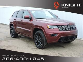 New 2020 Jeep Grand Cherokee Laredo Altitude 4X4 | 3.6L V6 | Leather Seats | Sunroof | NAV | Alpine Sound | Back-up Cam | Towing for sale in Weyburn, SK