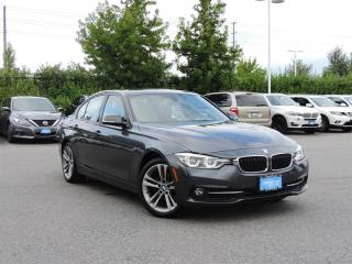 Used 2016 BMW 328i xDrive Sedan Local - No Accidents - One Owner Navi + Back Up Camera + Bluetooth Connections for sale in Langley, BC