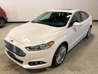 Used 2014 Ford Fusion SE AWD, Leather, Navigation, Sunroof and More! for sale in Calgary, AB