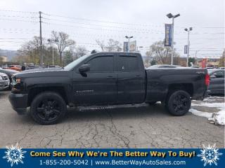 Used 2017 Chevrolet Silverado 1500 LOW KM! |4X4 | BACKUP CAM | QUAD CAB for sale in Stoney Creek, ON