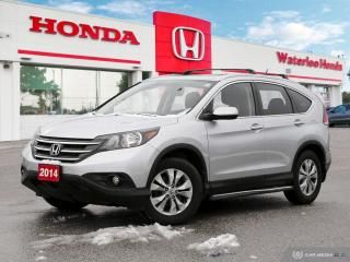 Used 2014 Honda CR-V EX One Owner, No Accident Local Vehicle! for sale in Waterloo, ON