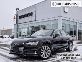 Used 2019 Audi A4 quattro for sale in Mississauga, ON