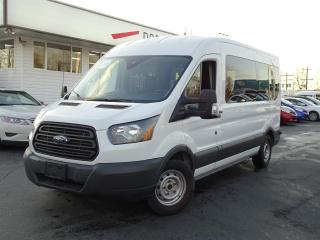 Used 2016 Ford Transit Wagon 15 Passenger, Bluetooth, Radar Assisted for sale in Vancouver, BC