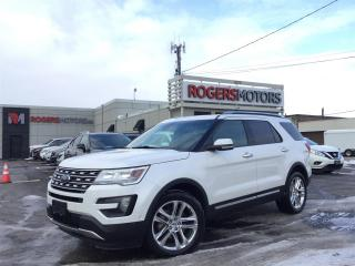 Used 2016 Ford Explorer LTD 4WD - NAVI - 7 PASS - PANO ROOF - LEATHER for sale in Oakville, ON