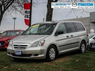 Used 2006 Honda Odyssey LX- LOW KILOMETERS, AUTOMATIC, A/C for sale in Burlington, ON