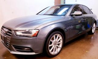 Used 2014 Audi A4 2.0 Technik Premium*NAVIGATION|AWD|PREMIUM|2L TURBO for sale in Concord, ON