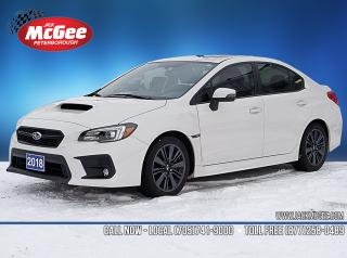 Used 2018 Subaru WRX SPORT for sale in Peterborough, ON