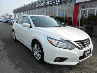 Used 2016 Nissan Altima 4dr Sdn CVT 2.5 S, Remote starter, Backup camera. for sale in Scarborough, ON