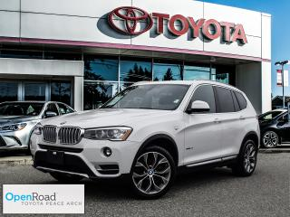 Used 2017 BMW X3 xDrive28i NO ACCIDENTS! for sale in Surrey, BC