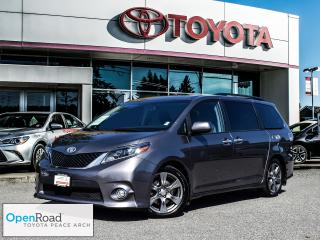 Used 2017 Toyota Sienna SE 8-Passenger V6 Exterior Parking Camera Rear! for sale in Surrey, BC