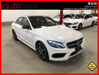 Used 2017 Mercedes-Benz C-Class C43 AMG 4MATIC PREMIUM LED 360 CAM RED INT! for sale in Vaughan, ON