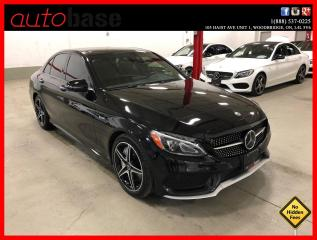 Used 2018 Mercedes-Benz C-Class C43 AMG 4MATIC DISTRONIC PREMIUM 360 CAMERA for sale in Vaughan, ON
