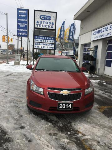 2014 Chevrolet Cruze 4dr Sdn 1LT