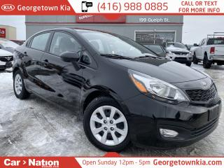 Used 2013 Kia Rio | 6 SPEED MANUAL | ONE OWNER | BLUETOOTH | for sale in Georgetown, ON
