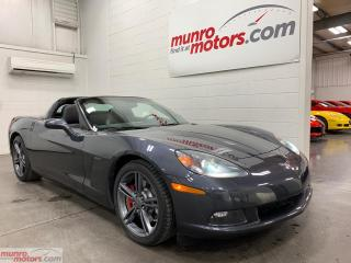 Used 2010 Chevrolet Corvette 2dr Cpe 3LT Auto Targa HUD Heat Seats Bluetooth for sale in St. George Brant, ON