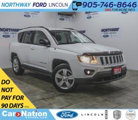 Used 2011 Jeep Compass | 4x4 | HTD SEATS | KEYLESS ENTRY | AUX | CRUISE | for sale in Brantford, ON